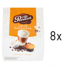 Caffé Perrucci Latte Macchiato do Dolce Gusto8ks