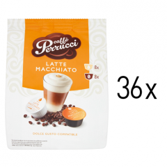Caffé Perrucci Latte Macchiato do Dolce Gusto</br>36ks