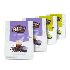 Perrucci Mix</br>Espresso 2ks, Cappuccino 2ks do dolce gusto