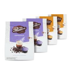 Perrucci Mix Espresso 2ks, Latte Macchiato 2ks do dolce gusto